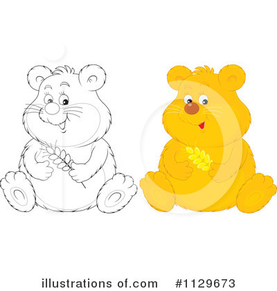Hamster Clipart  1129673 By Alex Bannykh   Royalty Free  Rf  Stock