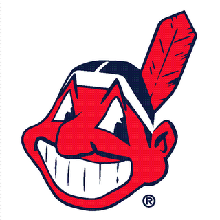 Look How Happy He Is  This Was The Primary Logo Until The Indians