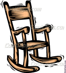 Rocking Chairs Vector Clip Art
