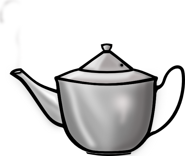 Tea Pot Clip Art At Clker Com   Vector Clip Art Online Royalty Free