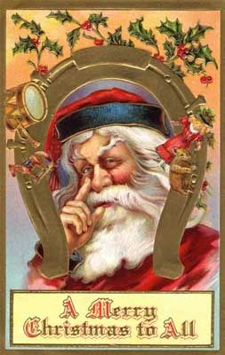 Vintage Santa Clip Art From Public Domain Collection At Karenswhimsy