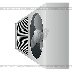 Air Conditioner Clipart Black And White Air Conditioning   Vector Clip