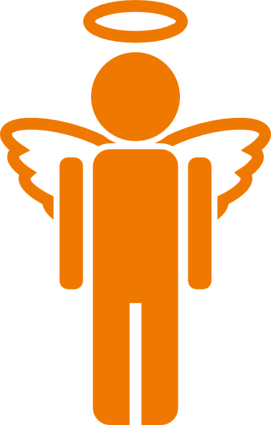 Angel Icon Clip Art At Clker Com   Vector Clip Art Online Royalty