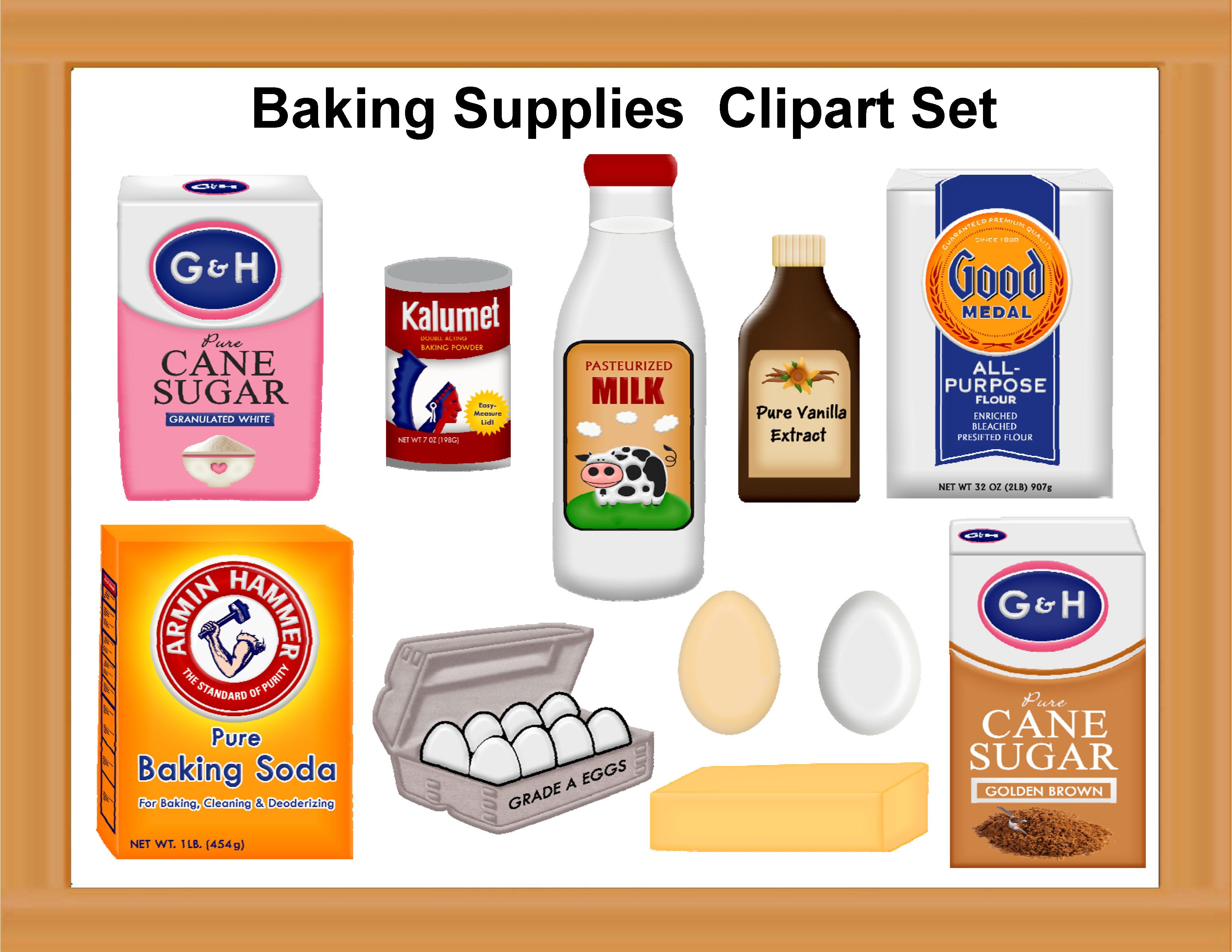 Baking Equipment Clipart - Clipart Suggest