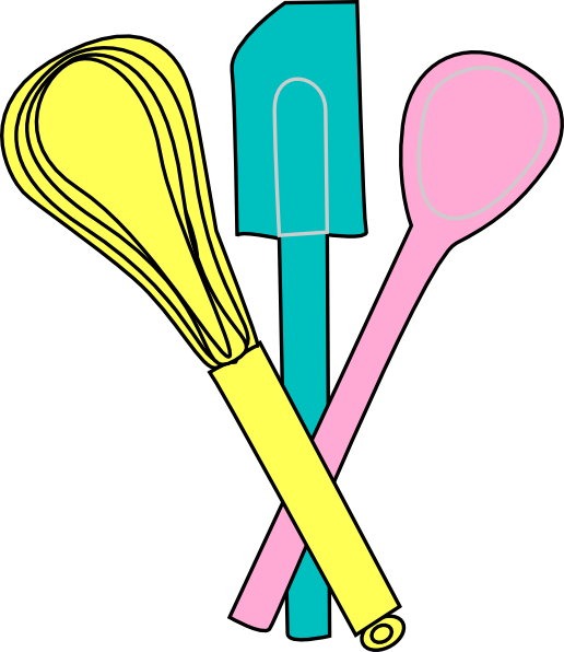 clipart kitchen utensils free - photo #19