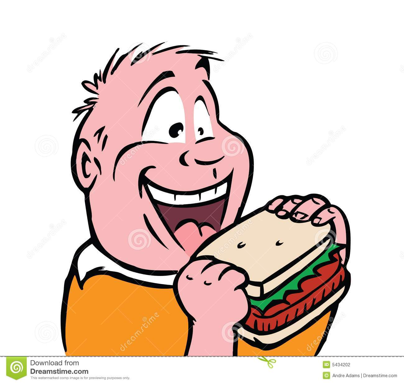 Hungry People Clipart