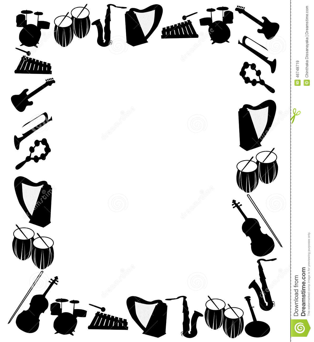 orchestra border clipart clipart suggest. Black Bedroom Furniture Sets. Home Design Ideas