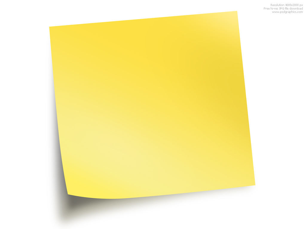 Sticky Notes   Psdgraphics