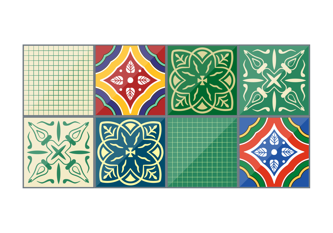 Talavera Tiles   Download Free Vector Art Stock Graphics   Images
