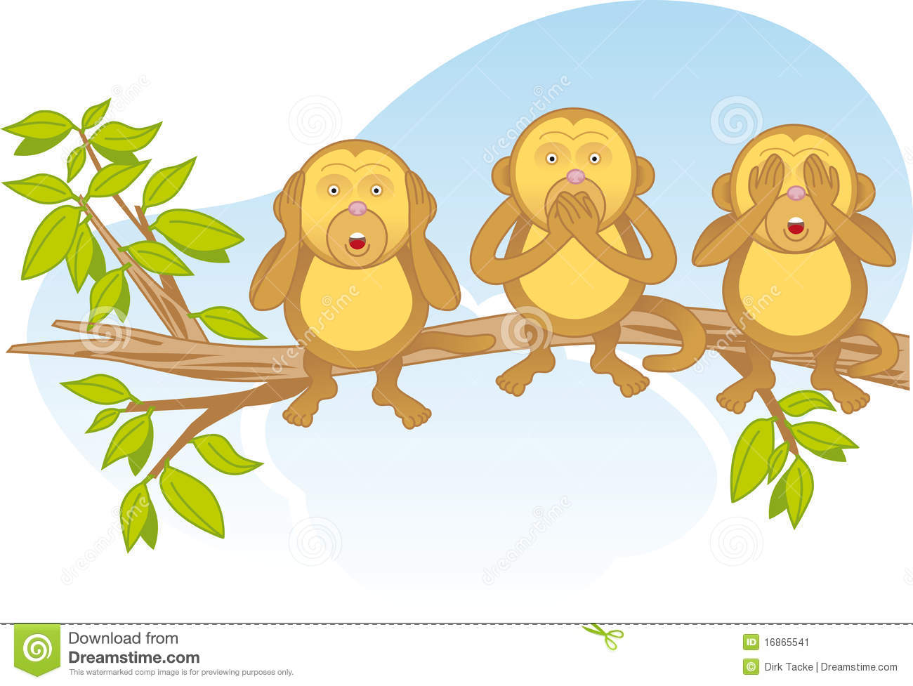 Three Wise Monkeys   A Pictorial Of The Concept  See No Evil Hear No