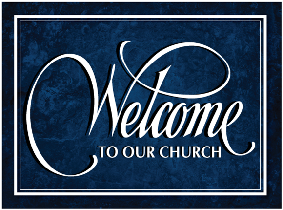 Welcome New Church Members Clip Art