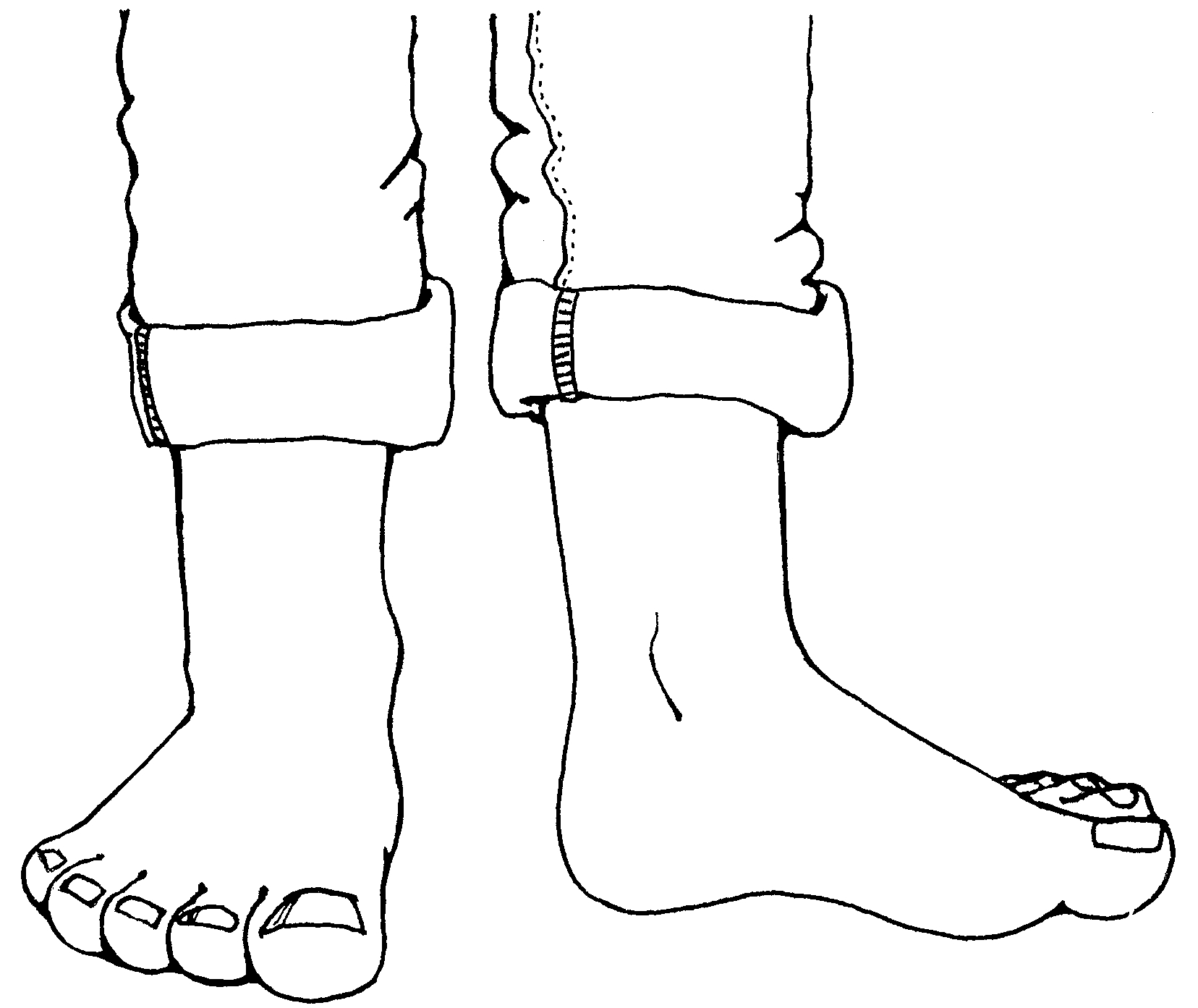 Clip Art Feet Clip Art feet and toes clipart kid white shirt lds free cliparts all used for free