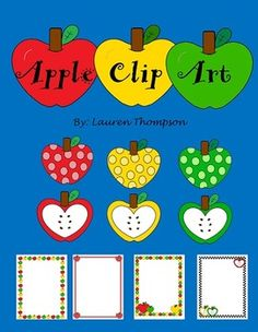 Polka Dot Apple Clipart - Clipart Kid