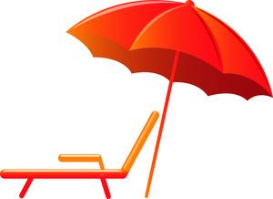 Outdoor Furniture Umbrella Clip Art