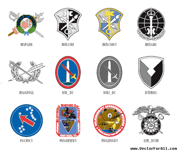 Continue Reading Usa Army Herald Vector Clipart
