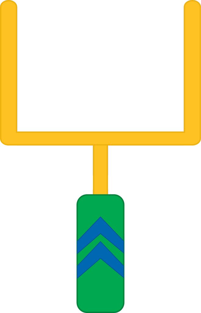 Football Goal Post Clipart   Cliparts Co