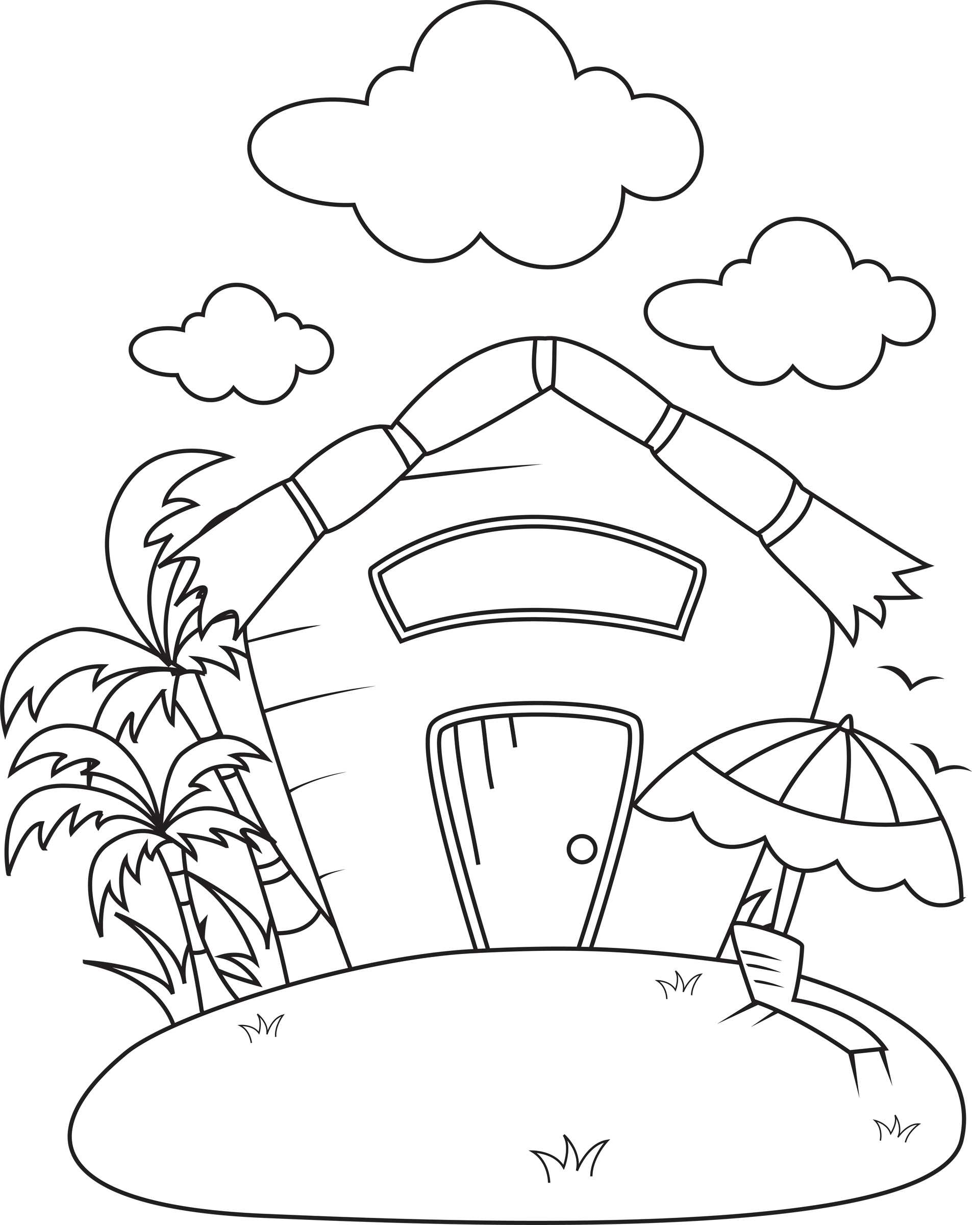 Back   Gallery For   Nipa Hut Clip Art
