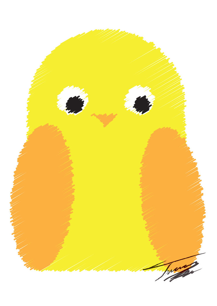 Big Bird Clip Art Yellow Bird Clipart By