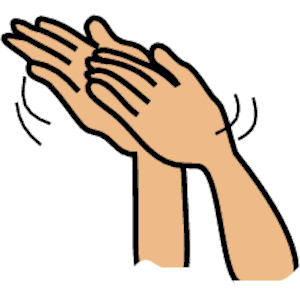 Clapping 2 Clipart Cliparts Of Clapping 2 Free Download  Wmf Eps