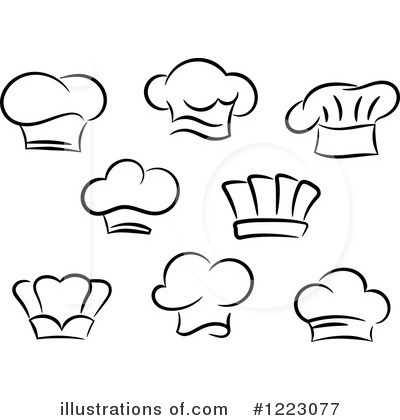 Cook Hat Clipart Chef 20hat 20cli 20black Cook Hat Clipart Cook Hat