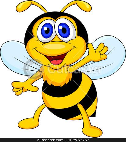 clipart cute bee - photo #29