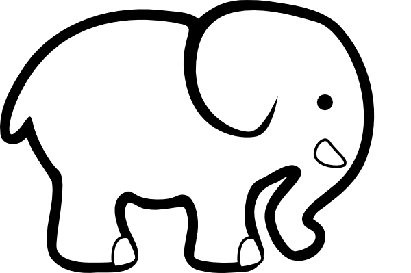 elephant clipart panda - photo #21