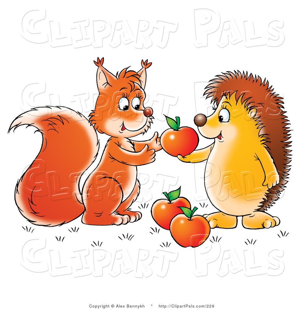 Clip Art Sharing Clipart sharing clipart kid friendly squirrel or fox friend clip art alex bannykh