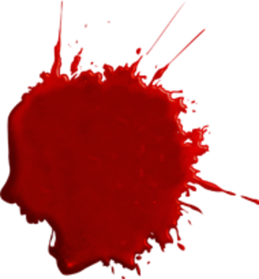... Blood Splatter Psd47945 Png Camp Half Blood Role Playing - Clipart Kid