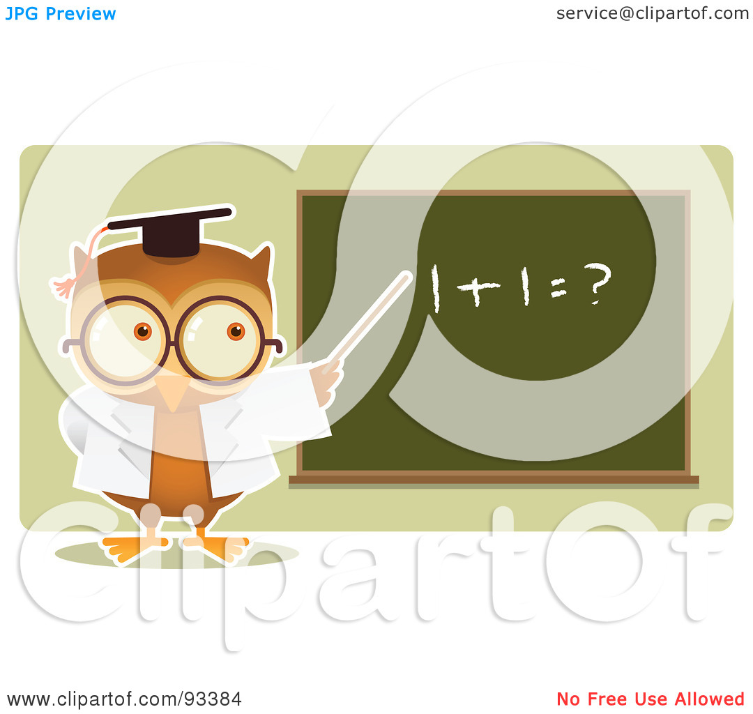math owl clipart - photo #27