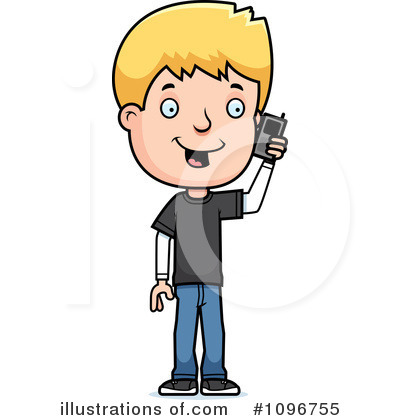 Royalty Free  Rf  Teen Boy Clipart Illustration By Cory Thoman   Stock