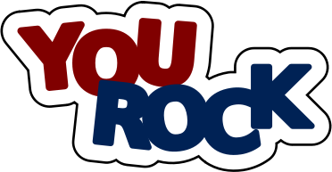 You Rock    Education Encouraging Words You Rock Png Html