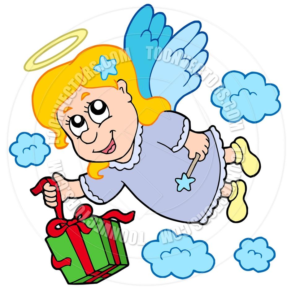 cartoon angel clipart - photo #43