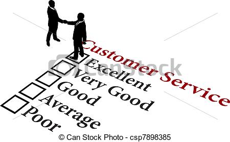 Clip Art Customer Service Clipart customer service appreciation clipart kid vector of business relationship excellent service