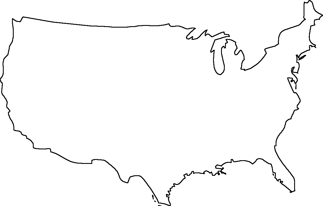 Free Printable Maps Blank Map Of The United States