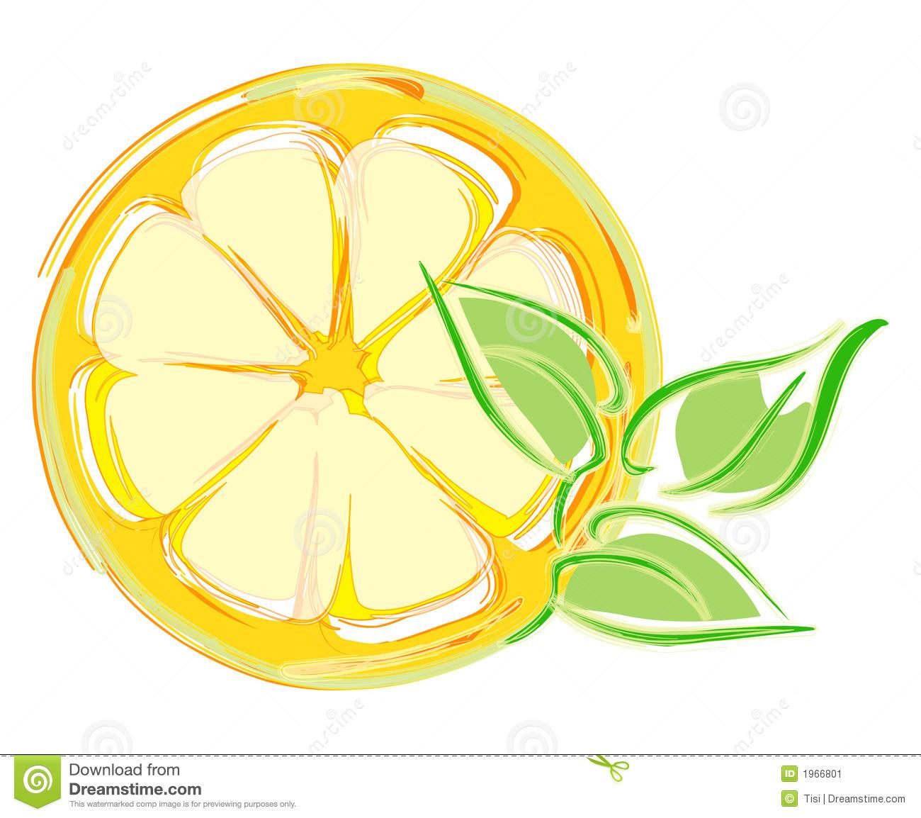 free clip art lemon slice - photo #26