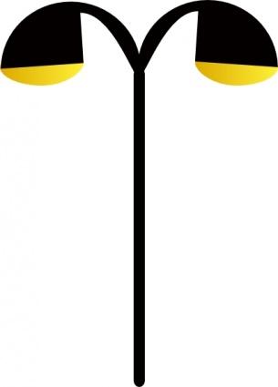 Objects   Lamp Cartoon Light Road Street Pole Lamps Sidewalk