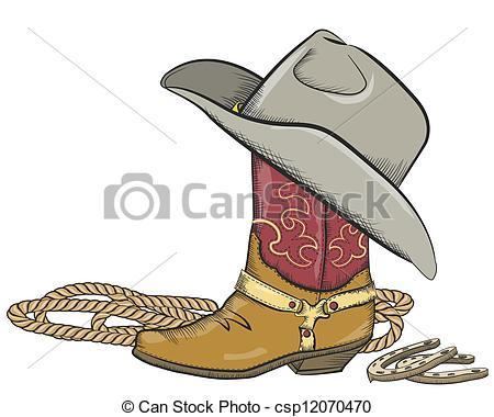 Cute Western Boot Clipart - Clipart Kid