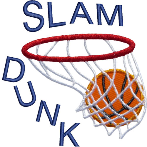 Slam Dunk Clipart