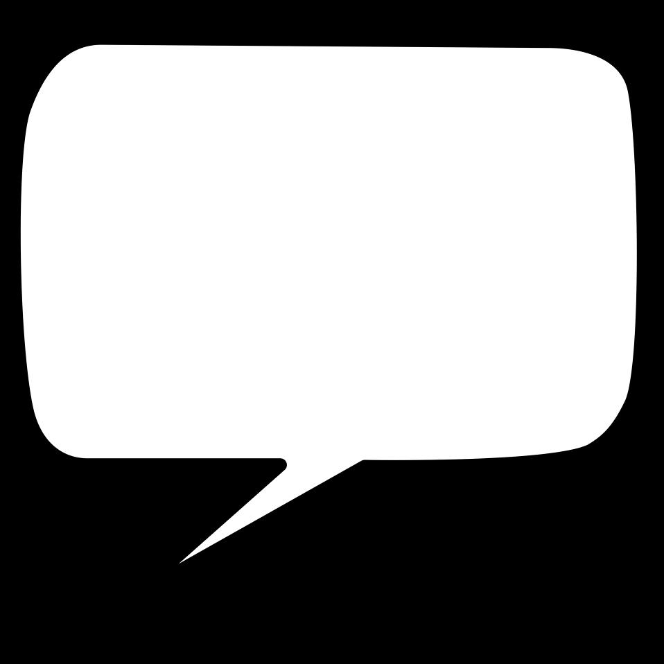 Speech Bubble Transparent Background Tumblr
