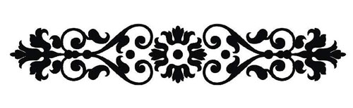 Vertical Damask Clipart - Clipart Suggest