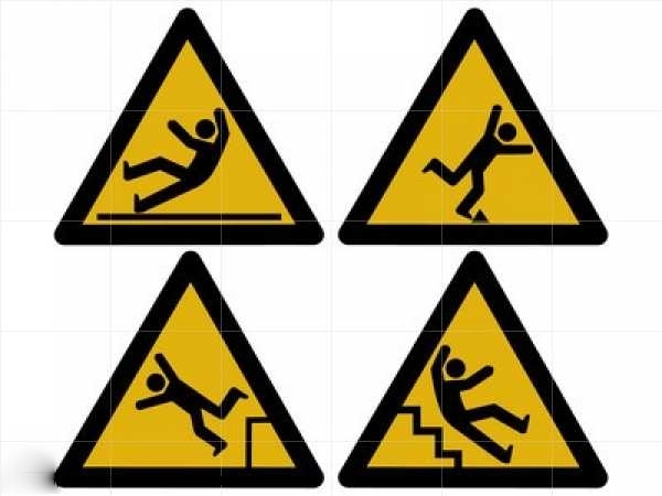 Slip Trip Fall Prevention Clipart - Clipart Suggest