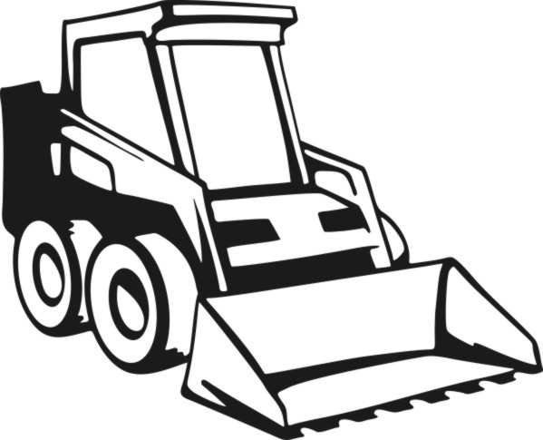 Bobcat Loader Cliparts further Construction Coloring Pages as well Baumaschinen furthermore 23995810488504003 in addition . on cat skid steer coloring pages