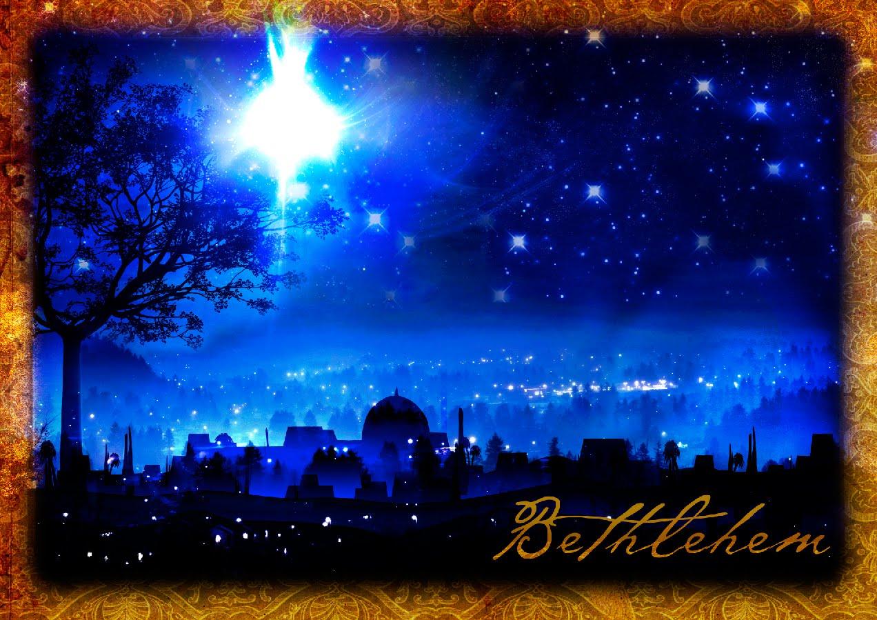 Christmas star over bethlehem clipart suggest