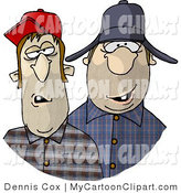 Clip Art Of Southern Redneck Men With Missing Teeth By Djart