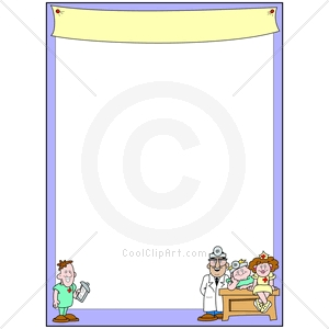 Coolclipart Com   Clip Art For  Borders Medical Doctors   Image Id