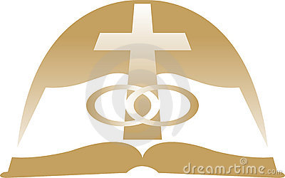 Cross And Wedding Rings Clipart Cross With Wedding Rings
