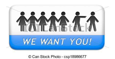 Job   We Want You Sign Job Search    Csp18986677   Search Eps Clipart