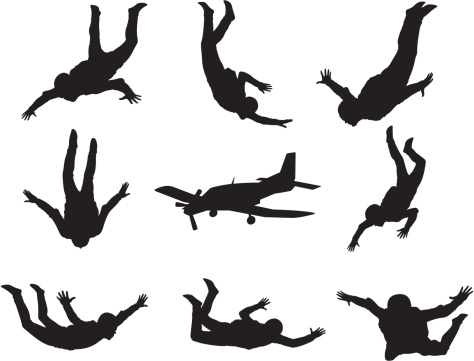 People Falling Clipart - Clipart Suggest