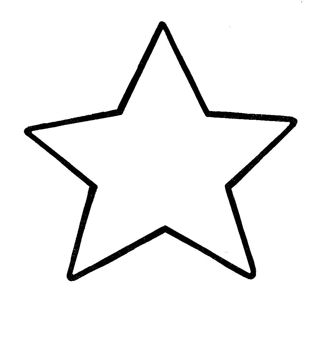 Star Clip Art Outline   Clipart Panda   Free Clipart Images