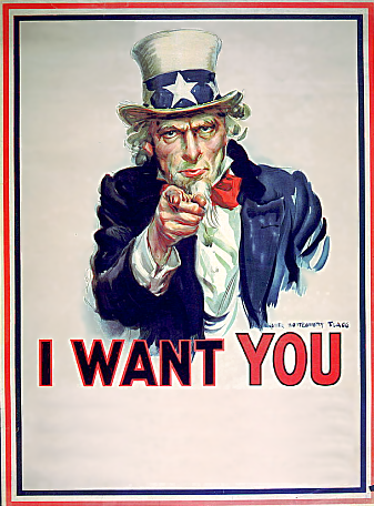 Uncle Sam Wants You Clip Art We Want You Clipart - ...